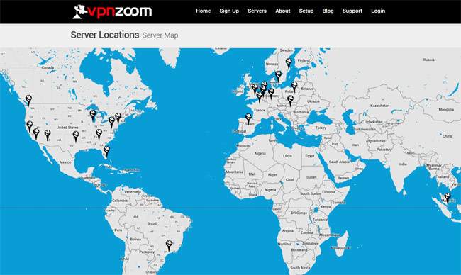 vpnzoom-server-locations